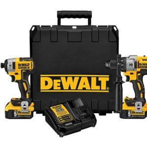DEWALT-20V-MAX-XR-Cordless-Drill-Combo-Kit