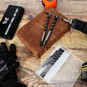 Owl Tools 10 Piece Masonry Drill Bits Set 2