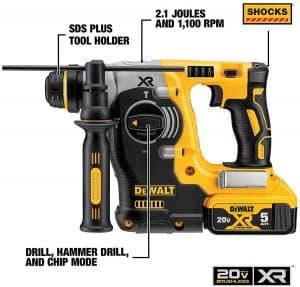 DEWALT-20V-MAX-SDS-Rotary-Hammer-SDS-Drill-2